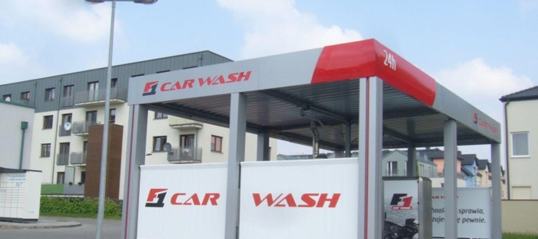 Przykładowa myjnia samoobsługowa