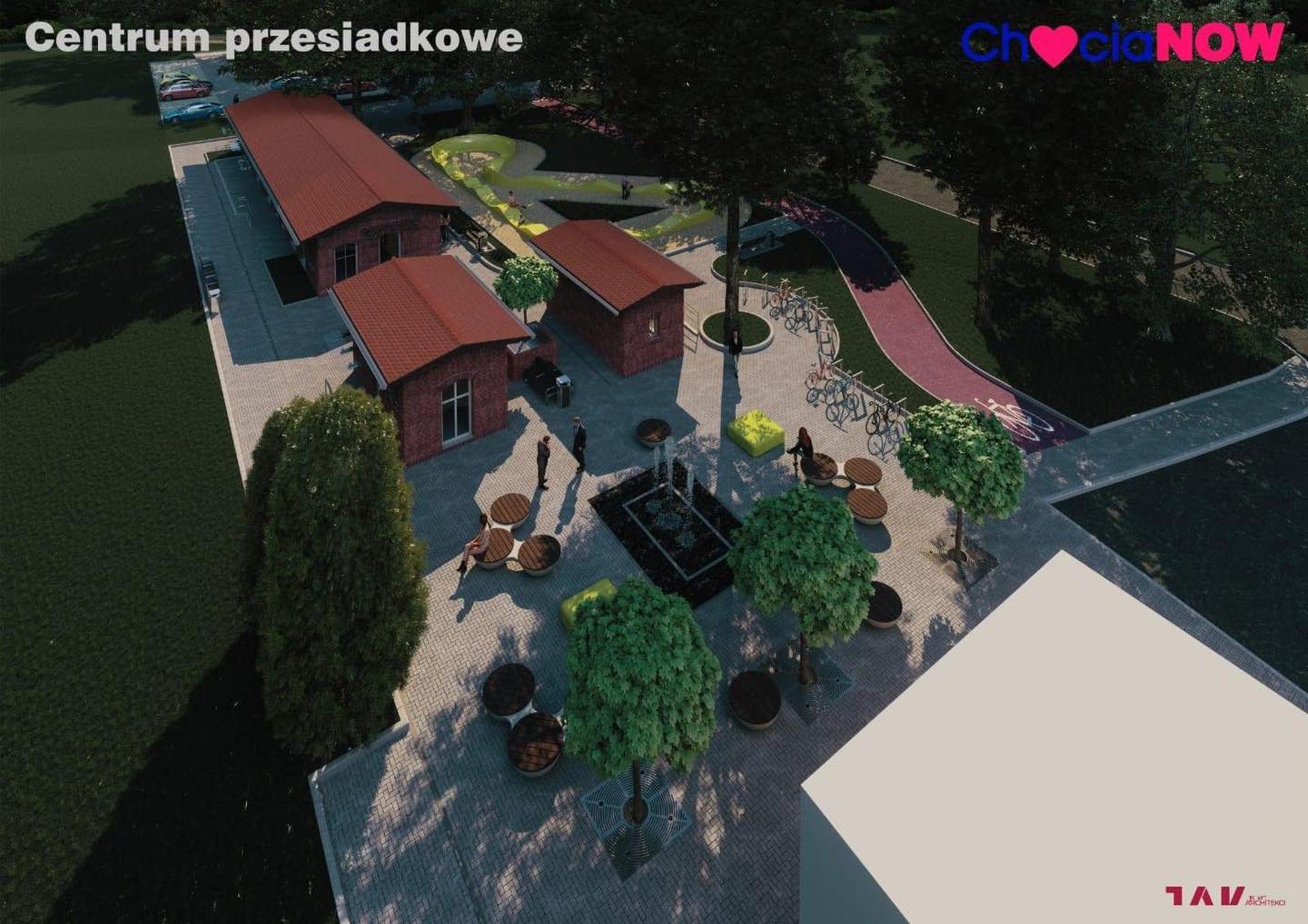 W Chocianowie ma powstać Centrum Przesiadkowe