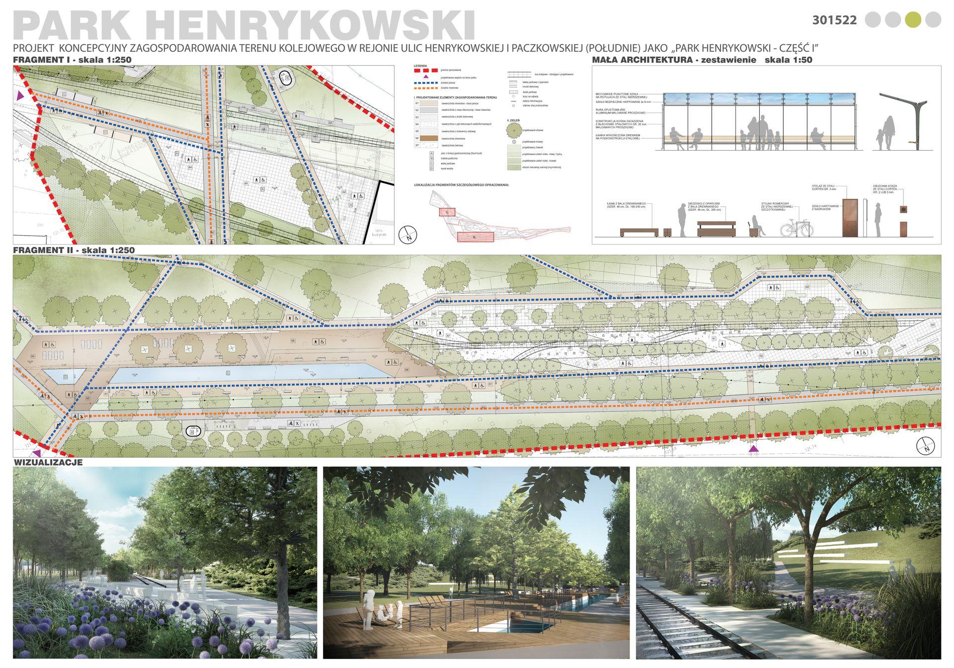 Rozstrzygnięto konkurs na projekt parku Henrykowskiego