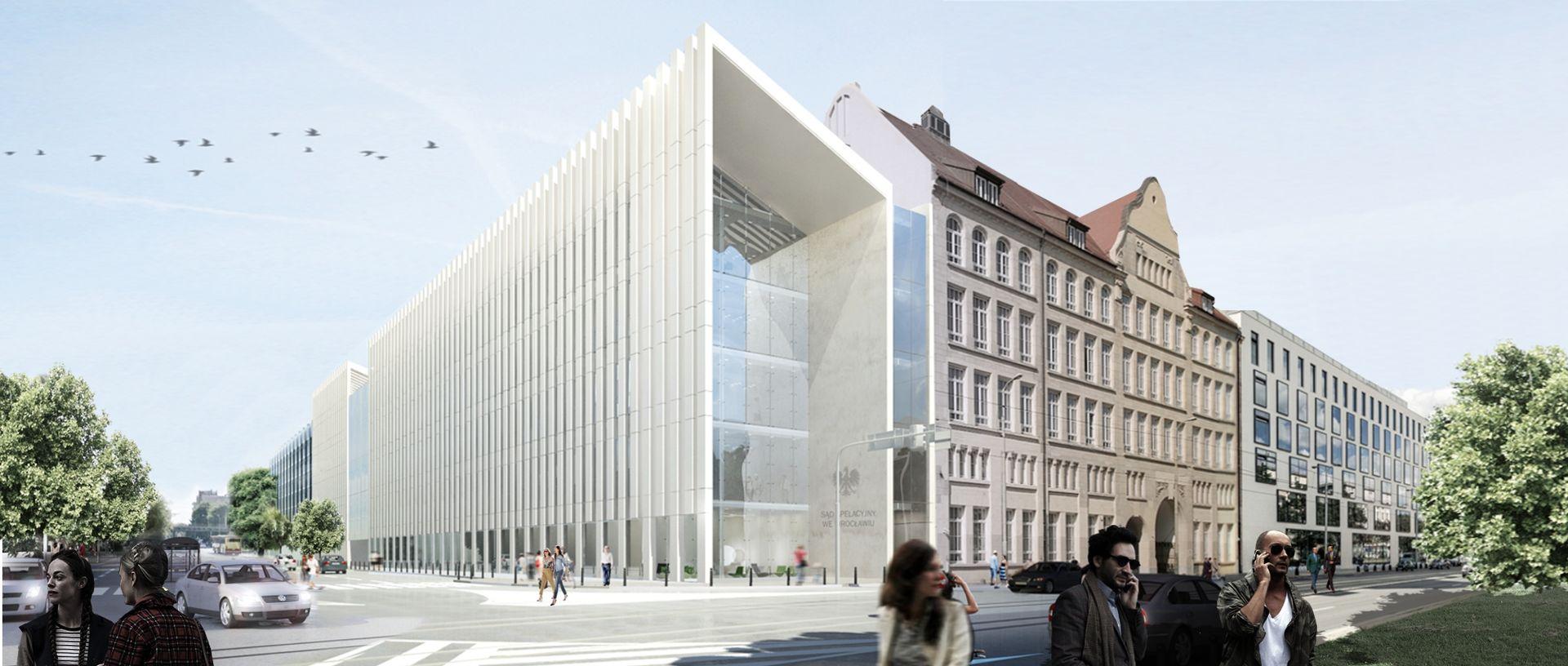 Mirbud wybuduje nową siedzibę Sądu Apelacyjnego we Wrocławiu