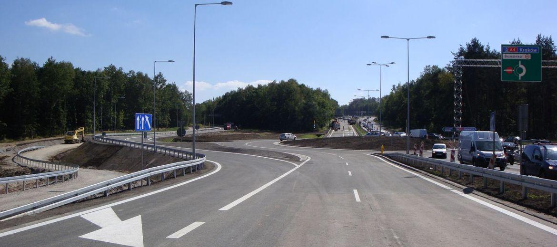 Otwarcie rozbudowanego węzła Mysłowice