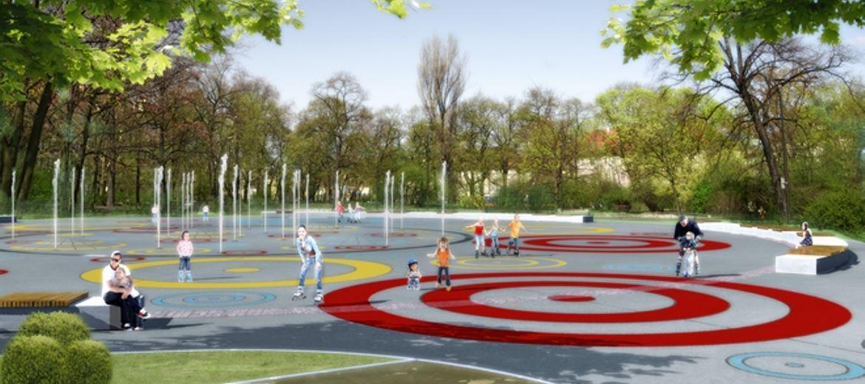 Park na wrocławskim Nadodrzu