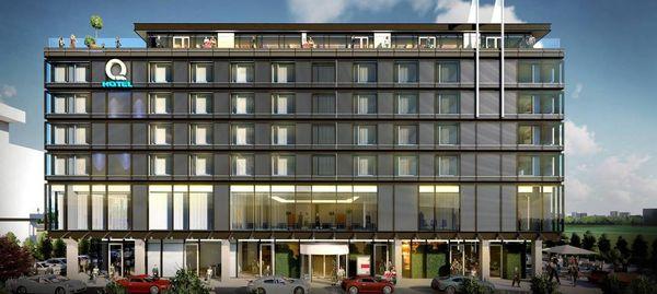 Aglomeracja Wrocławska: W Bielanach Wrocławskich powstanie największy w Polsce hotel sieci Q Hotel (wizualizacje)
