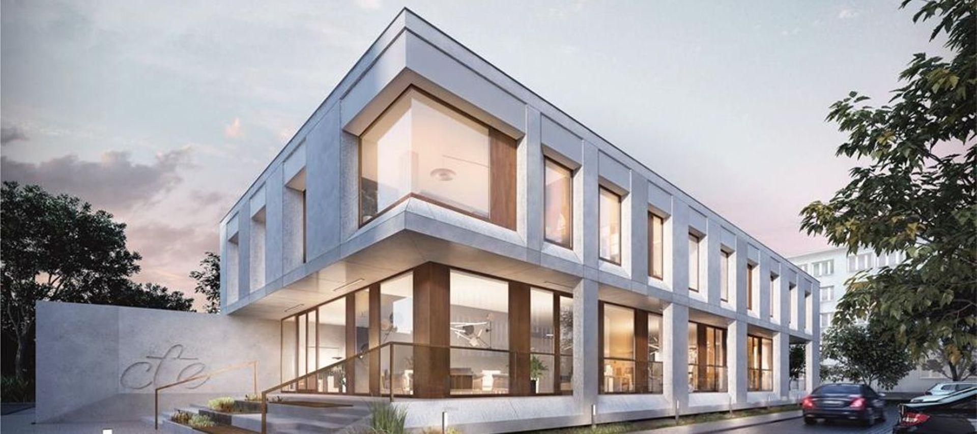 Wrocław: Centrum Biznesu Wielka – CTE wybuduje biurowiec obok Sky Tower [WIZUALIZACJA]