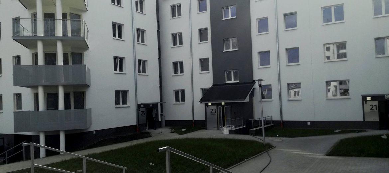 Pierwsze mieszkania osiedla przy