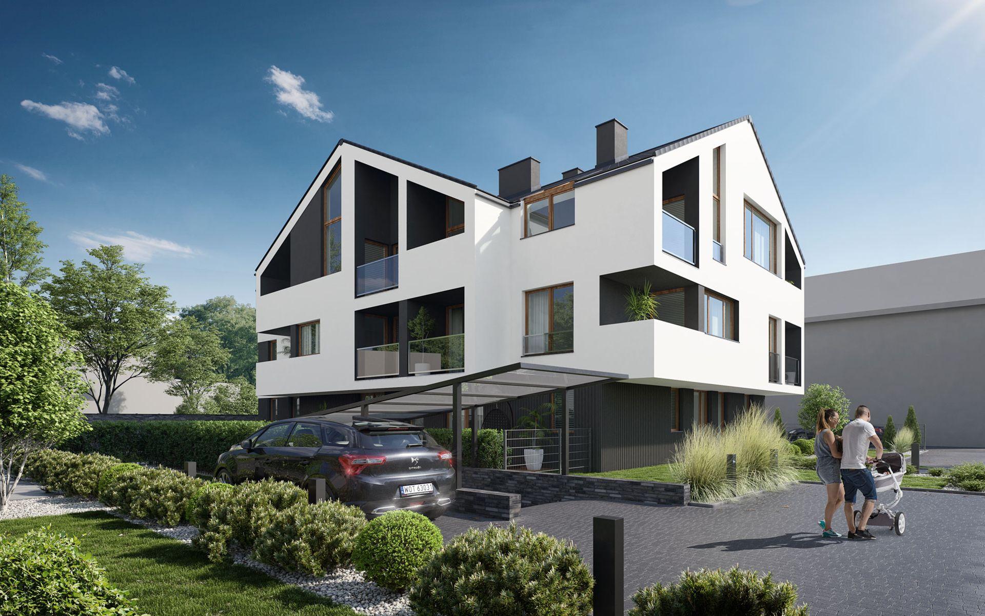 Kraków: Budowa Apartamentów Sąsiedzka na Dębnikach od Invest House dobiega końca