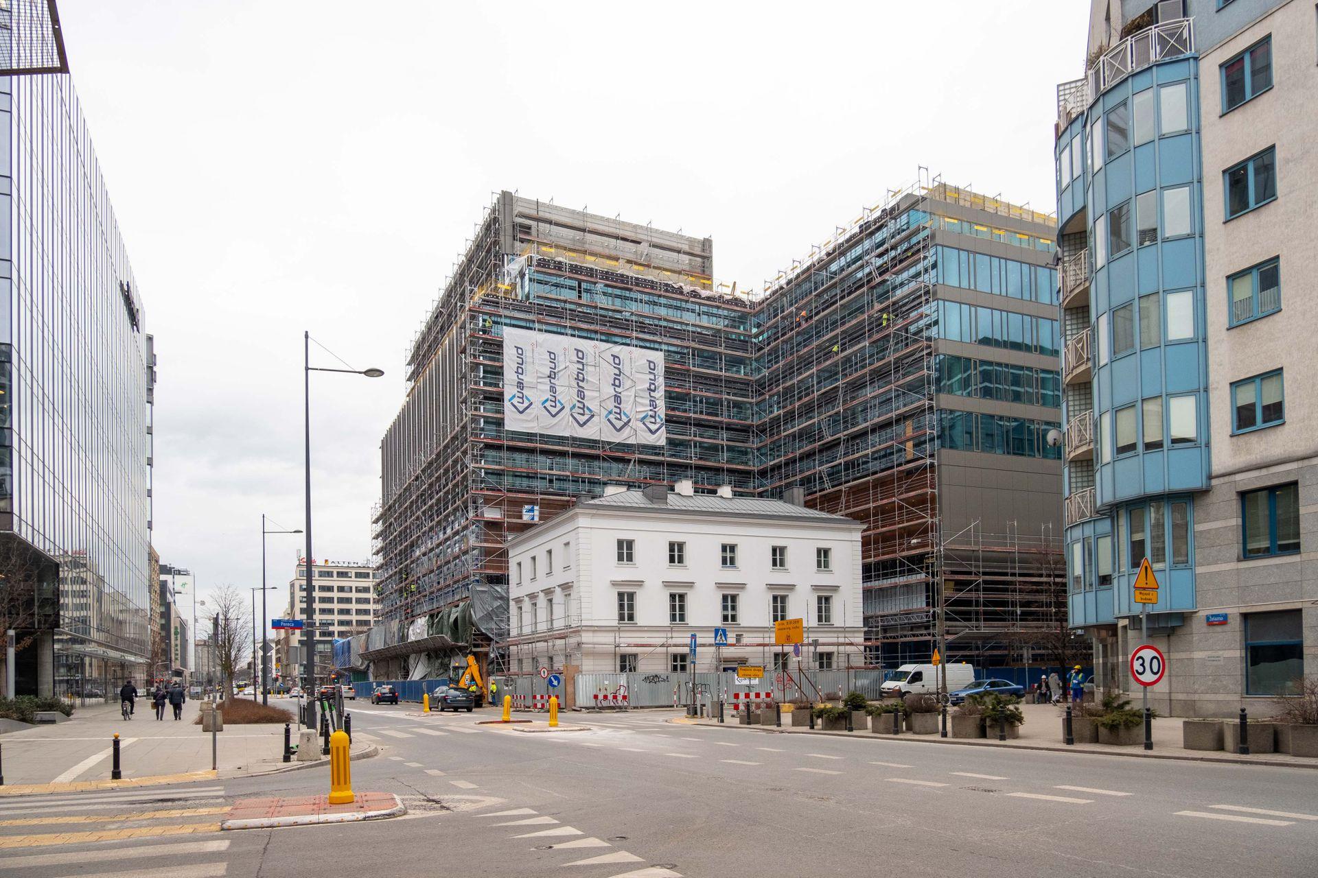 Warszawa: Na Woli trwa rewitalizacja Fabryki Norblina ArtN [FILM]