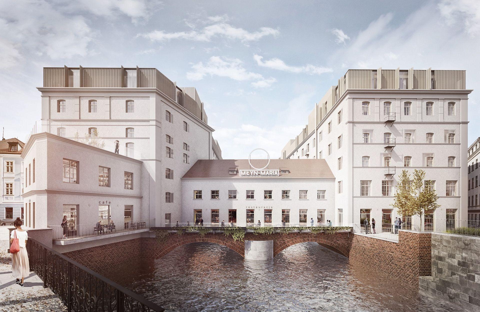 Wrocław: Młyn Maria – w rewitalizowanym zabytku powstają mieszkania i usługi