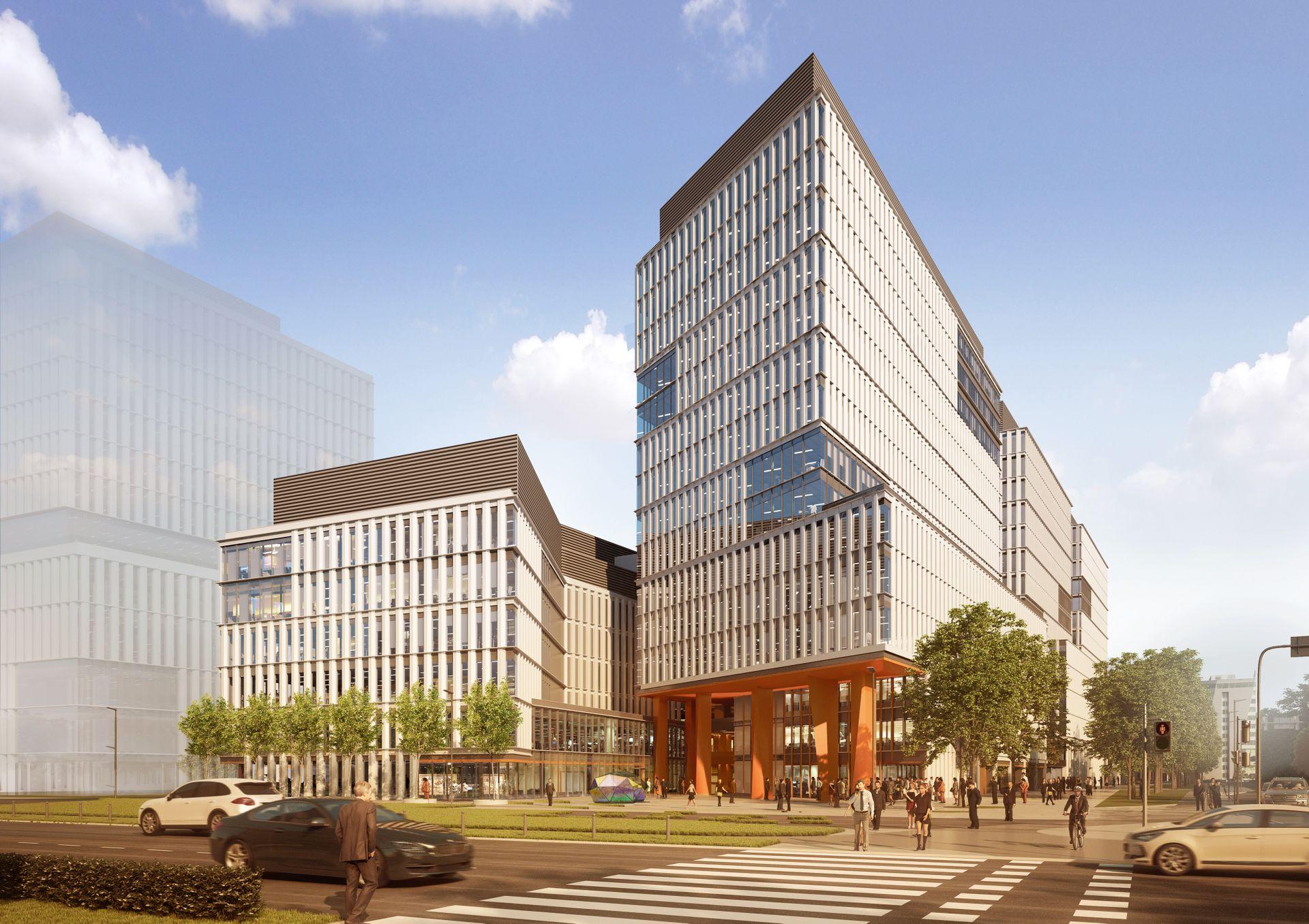 Centrum Południe. Skanska rusza z budową potężnego kompleksu biurowego