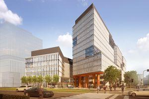 Centrum Południe. Skanska rusza z budową potężnego kompleksu biurowego [WIZUALIZACJE]