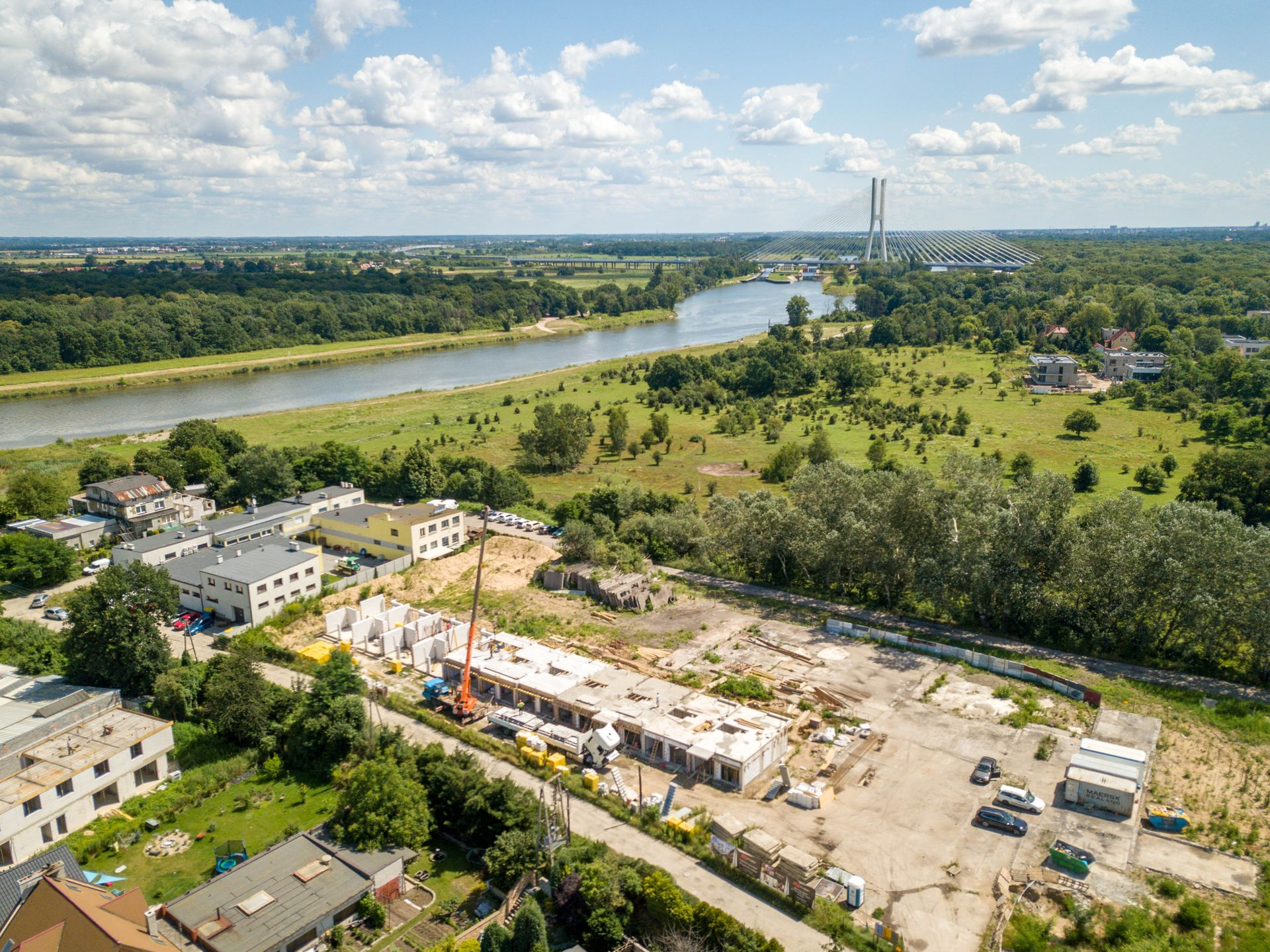 Wrocław: Potokowa Residence – sprzedaż nowych domów przy Odrze od M3 Invest na finiszu [FOTORELACJA]