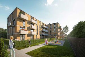 Warszawa: Apartamenty Ostródzka – Atal rusza z budową na Białołęce. Na start ponad 100 mieszkań [WIZUALIZACJE]