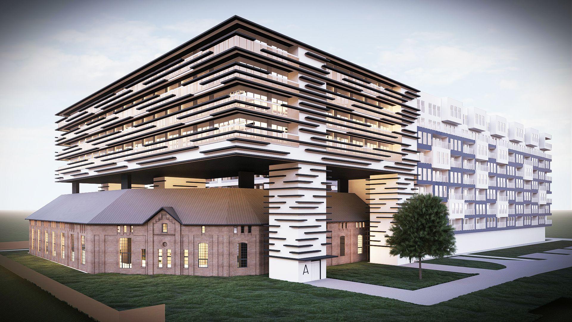 Innowacyjny projekt rewitalizacji zabytku po koszarach w centrum wrocławskiej Kępy Mieszczańskiej