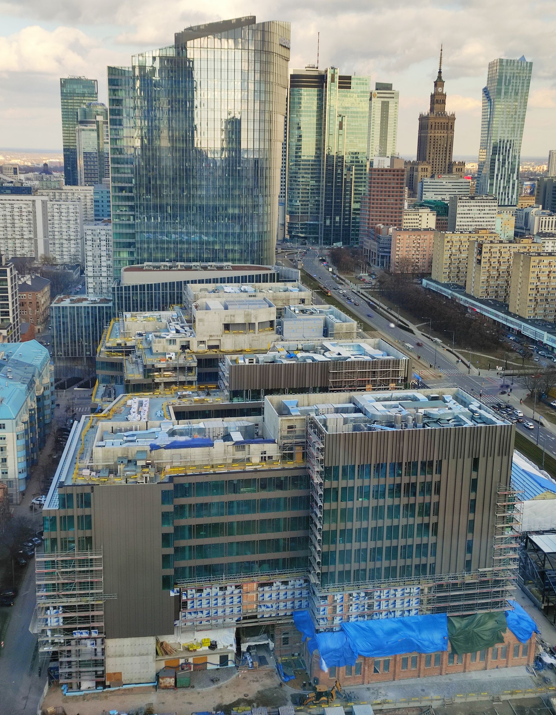 Na warszawskiej Woli trwają prace przy rewitalizacji Fabryki Norblina – ArtN
