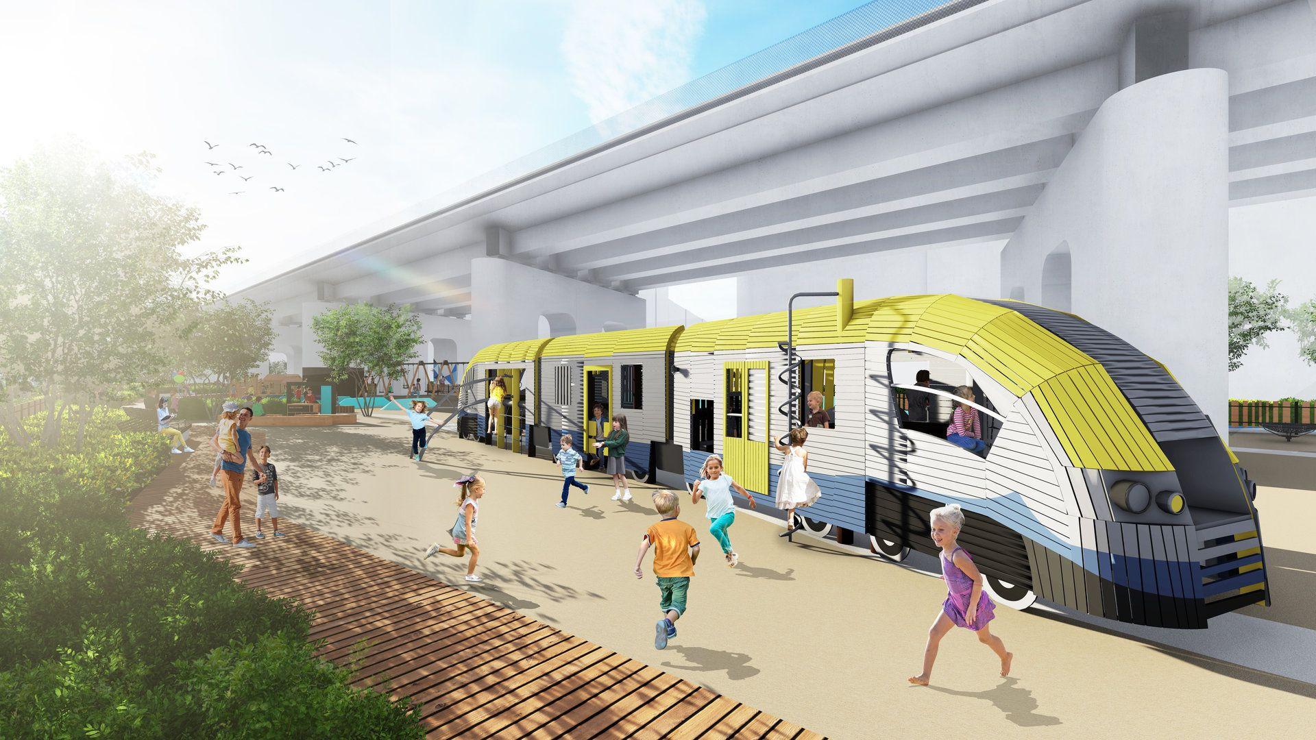 Kraków zagospodaruje dla mieszkańców tereny pod nową estakadą kolejową w centrum miasta