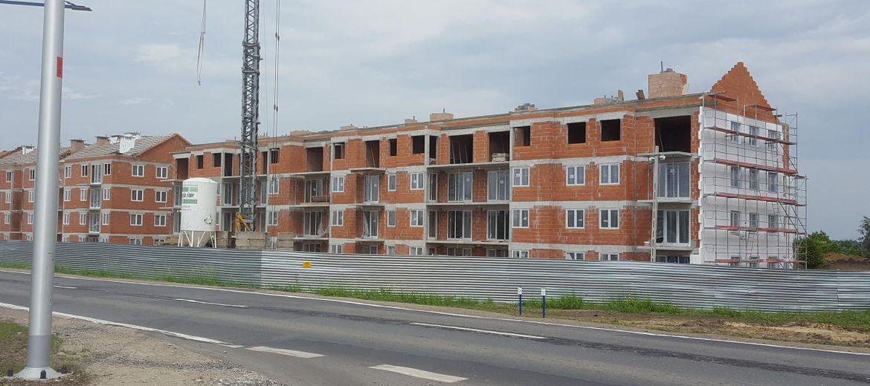 Budowa I etapu osiedla