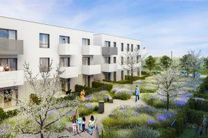 Wrocław: Zielone Miasto – Hossanova zbuduje osiedle ogrodów z setkami mieszkań na Muchoborze Wielkim [WIZUALIZACJE]