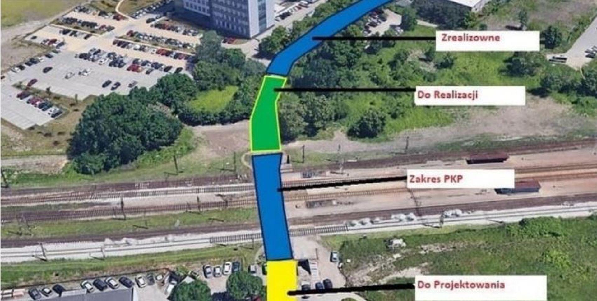 Jest szansa na dokończenie budowy ważnej drogi przy stacji Wrocław Muchobór