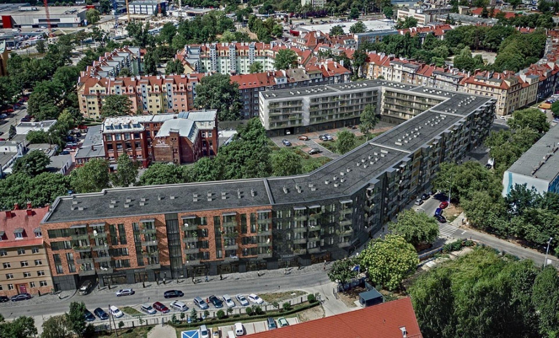 Wrocław: Nyska Residence – rusza drugi etap budowy apartamentów w miejscu hal na Tarnogaju