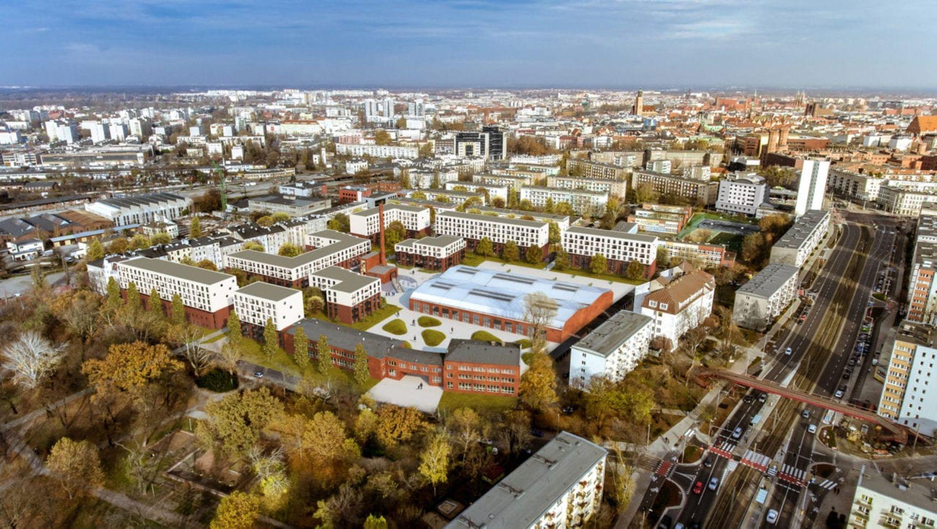 We Wrocławiu rusza budowa pierwszego osiedla w ramach programu Mieszkanie Plus [WIZUALIZACJE + ZDJĘCIA]