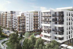 Warszawa: Moduo Gardens – ECI buduje setki mieszkań na Służewcu [WIZUALIZACJE]