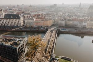 Trwa remont zabytkowych mostów Pomorskich we Wrocławiu [FOTORELACJA]