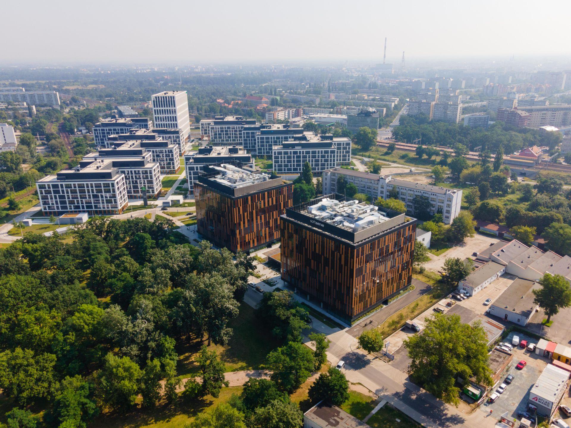 Wrocław najbardziej aktywnym regionalnym rynkiem biurowym w Polsce