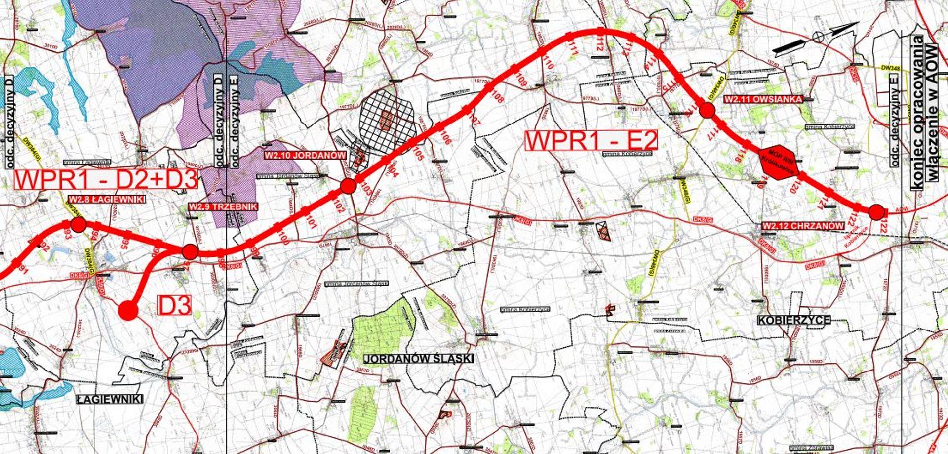 Złożono pierwszy wniosek o decyzję środowiskową dla drogi ekspresowej S8 Wrocław-Kłodzko
