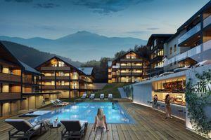 Dolny Śląsk: W Karpaczu powstanie nowy kompleks wypoczynkowy Tre Monti Ski&Bike Resort