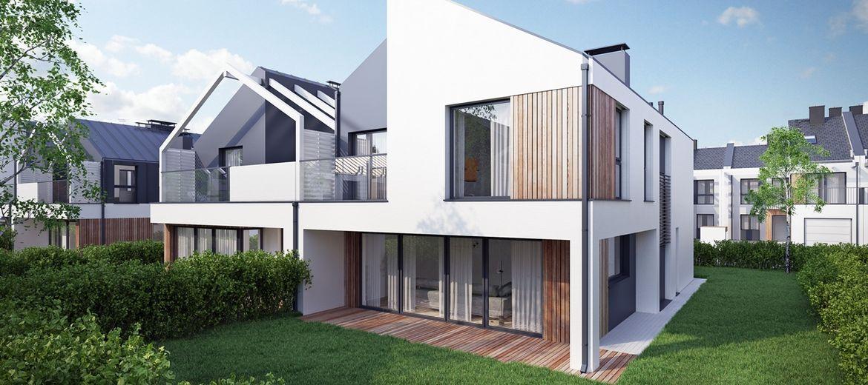 Nowe domy powstają na