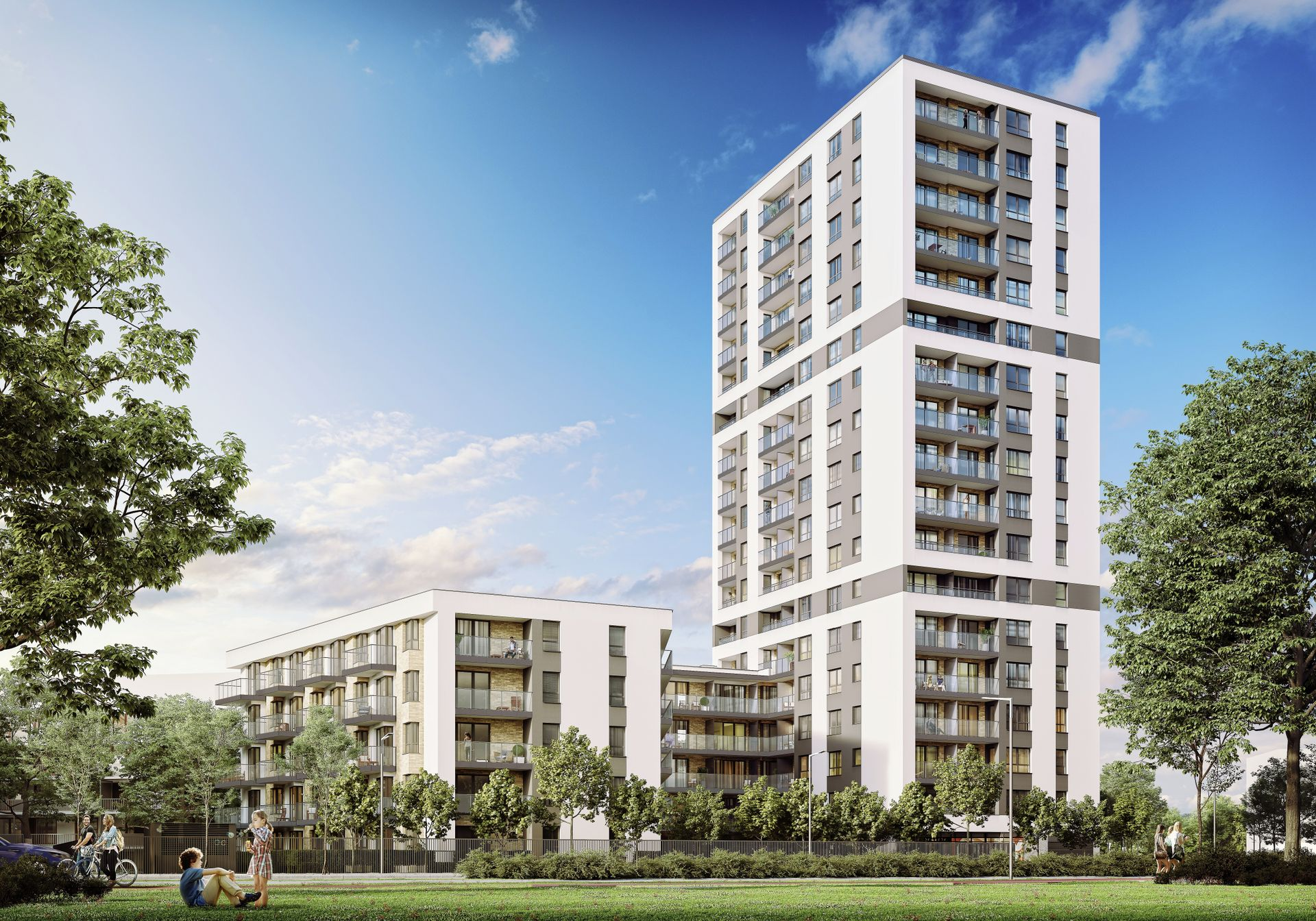 Warszawa: Horyzont Praga – Cordia buduje swój najwyższy europejski budynek