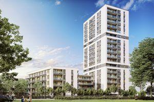 Warszawa: Horyzont Praga – Cordia buduje swój najwyższy europejski budynek [WIZUALIZACJE]