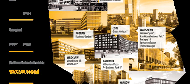Regionalne rynki biurowe wyprzedziły