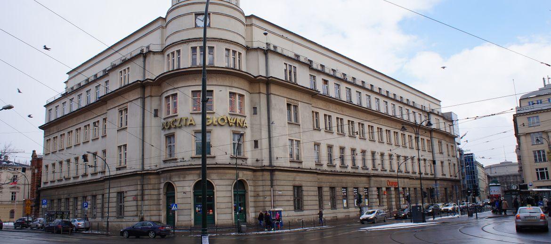 Kraków: Budynek Poczty Głównej