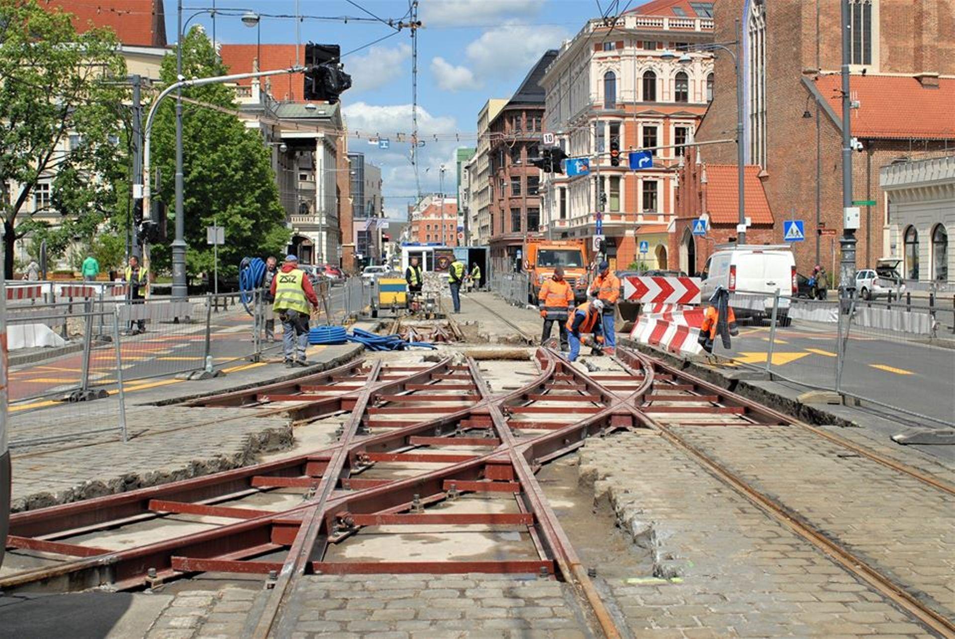 Spadła ilość wykolejeń tramwajów we Wrocławiu