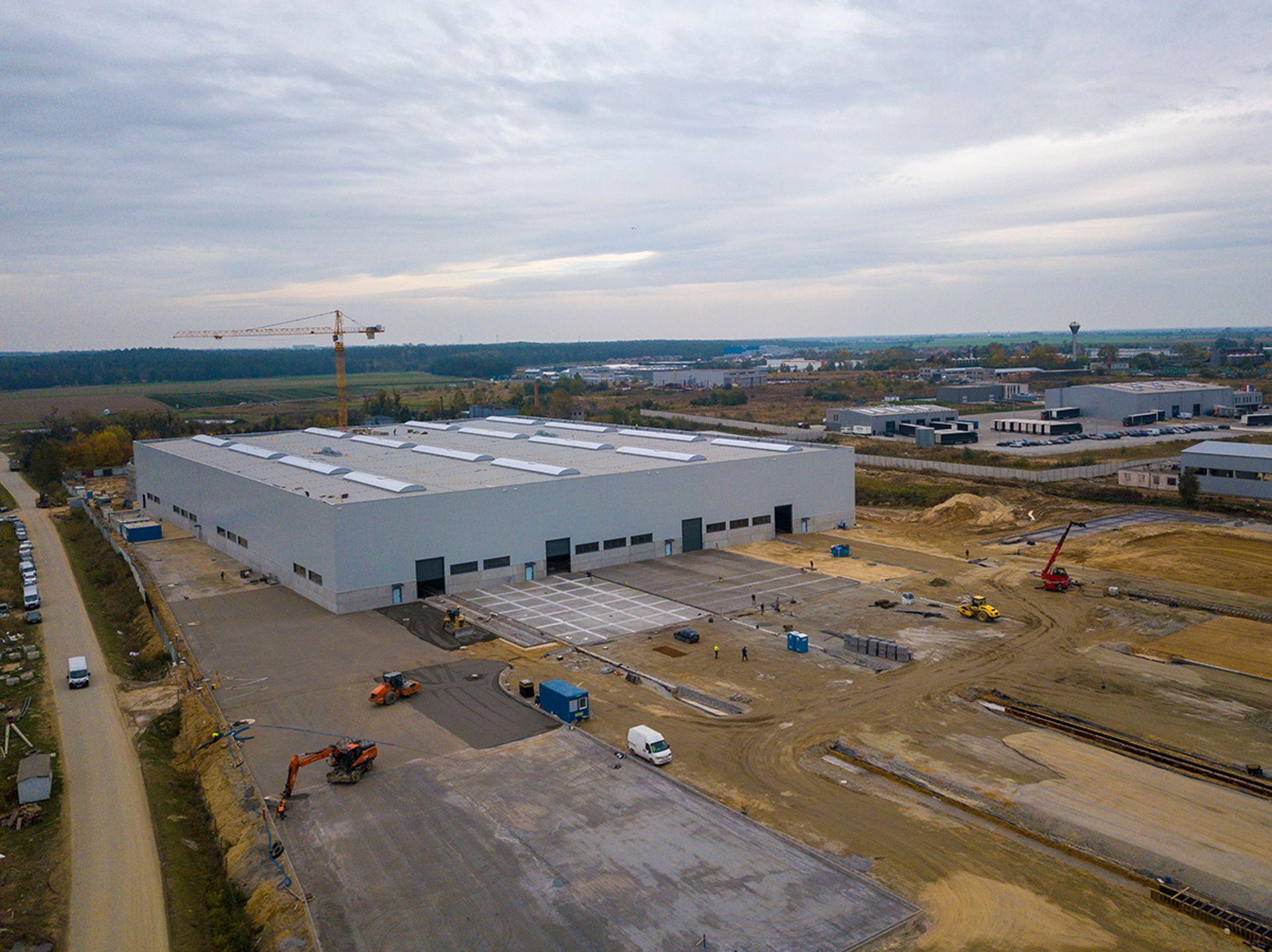 W gminie Miękinia powstaje nowoczesna fabryka z branży budownictwa