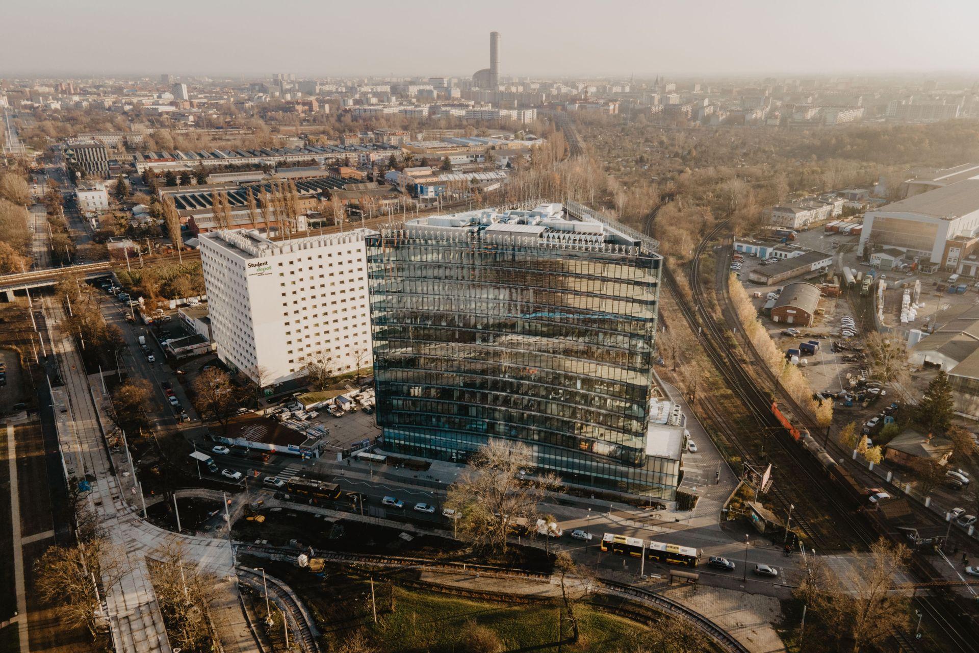 Cavatina zamierza sprzedać biurowiec Carbon Tower we Wrocławiu