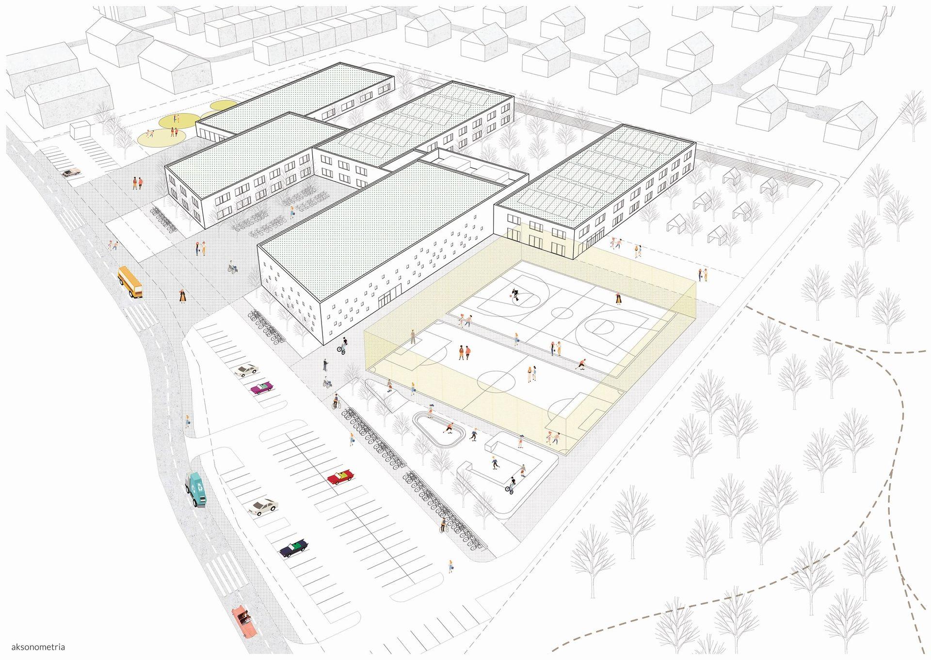 Aż 14 firm zainteresowanych budową kompleksu szkolno-przedszkolnego na granicy Jagodna i Wojszyc