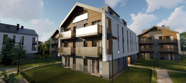 Kraków: Łokietka 213 – Real Construct stawia nowe osiedle na Prądniku Białym [WIZUALIZACJE]
