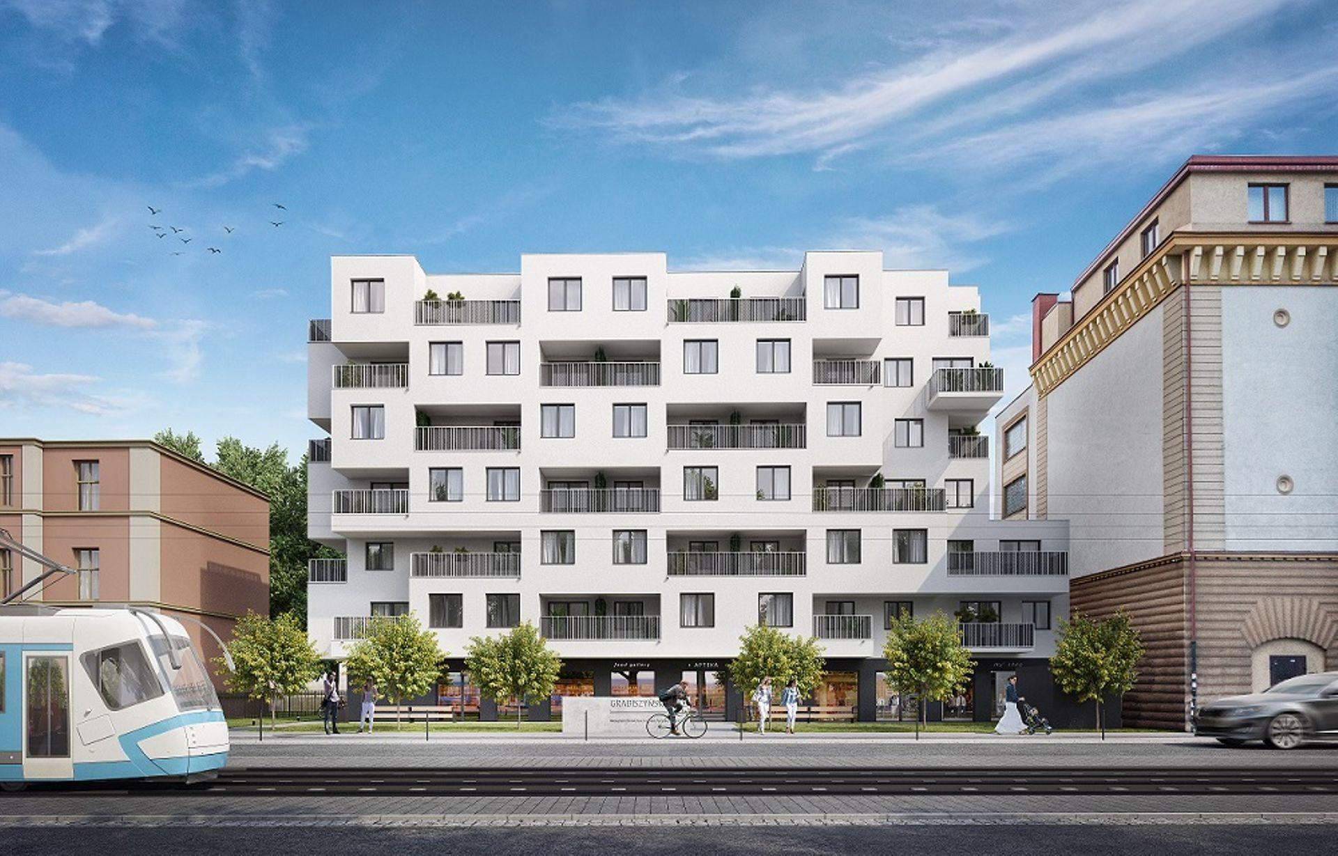 Wrocław: Grabiszyńska 141 – Dom Development buduje mieszkania w sąsiedztwie schronu