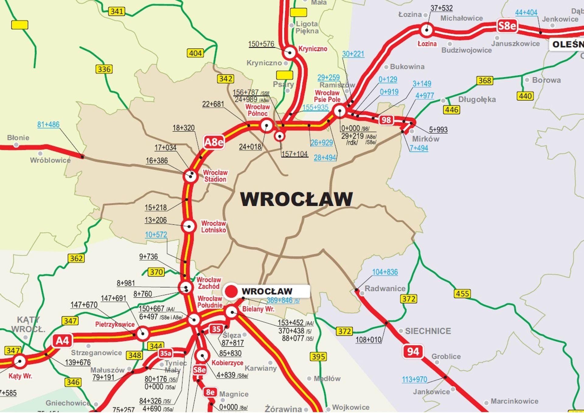 Jazda Autostradową Obwodnicą Wrocławia i autostradą A4 będzie bezpieczniejsza i wygodniejsza