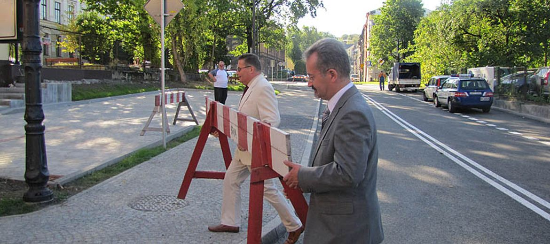 Nowa ulica w Cieszynie