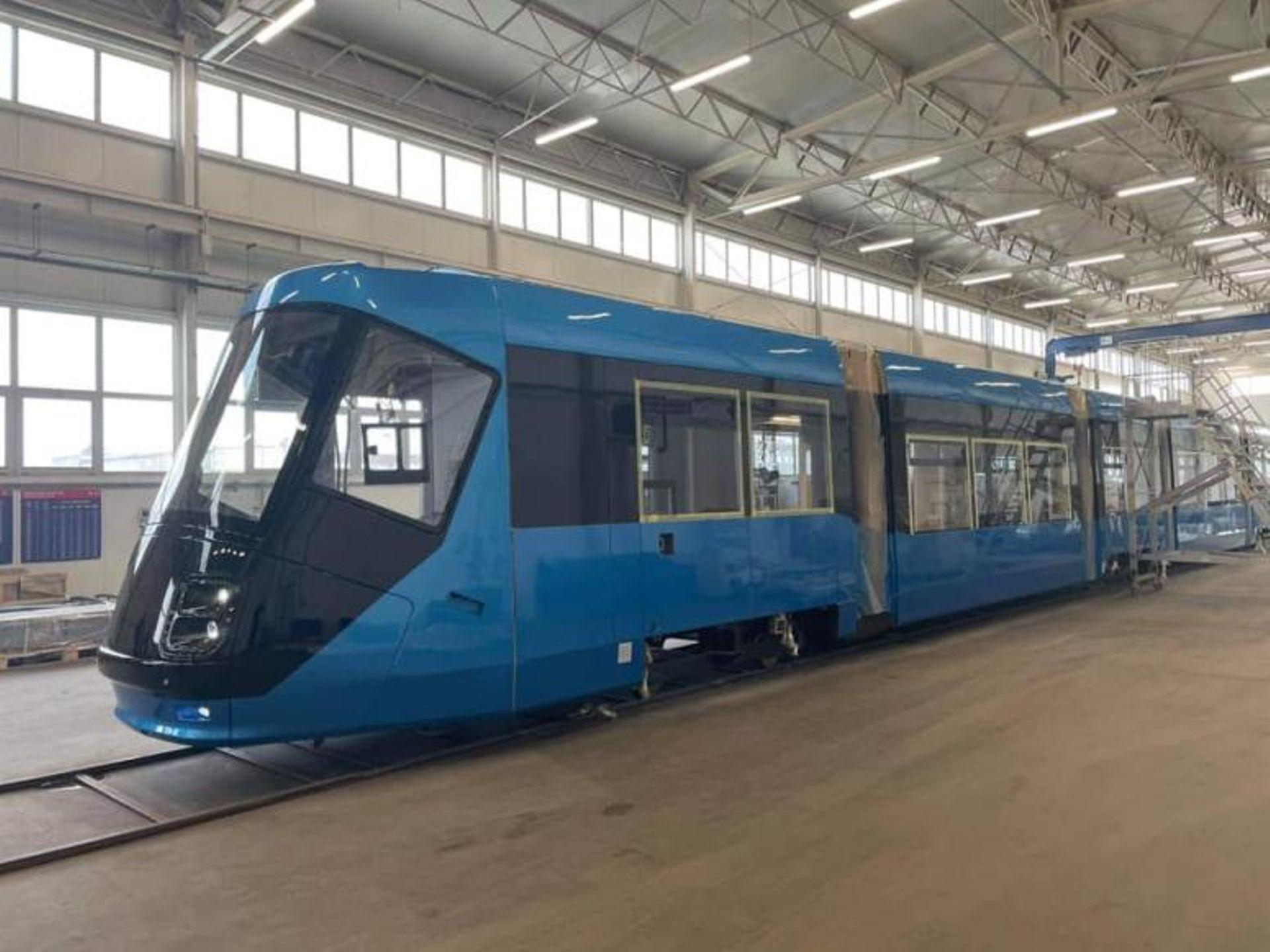 Wrocław: Trwa modernizacja pierwszego tramwaju Skoda 16T