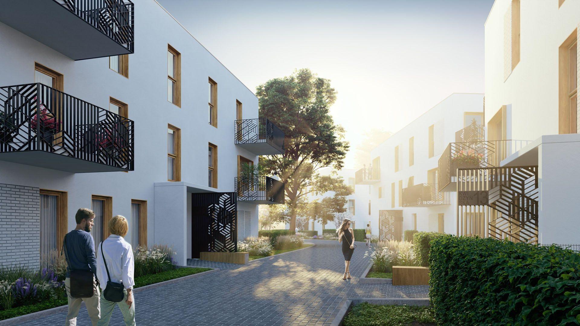Wrocław: Perspective – Bouygues Immobilier zbuduje kilkanaście willi miejskich na Kowalach