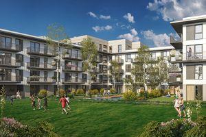 Warszawa: Hemara – Profit Development wybuduje setki mieszkań w Brzezinach [WIZUALIZACJE]
