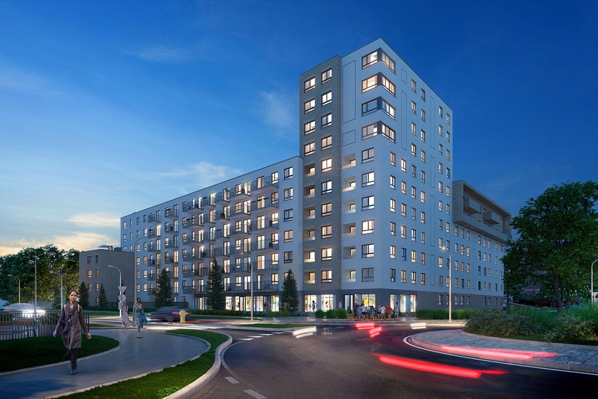 Wrocław: Piękna 21 – Dom Development buduje dziesięciopiętrowy blok w miejsce salonu samochodowego