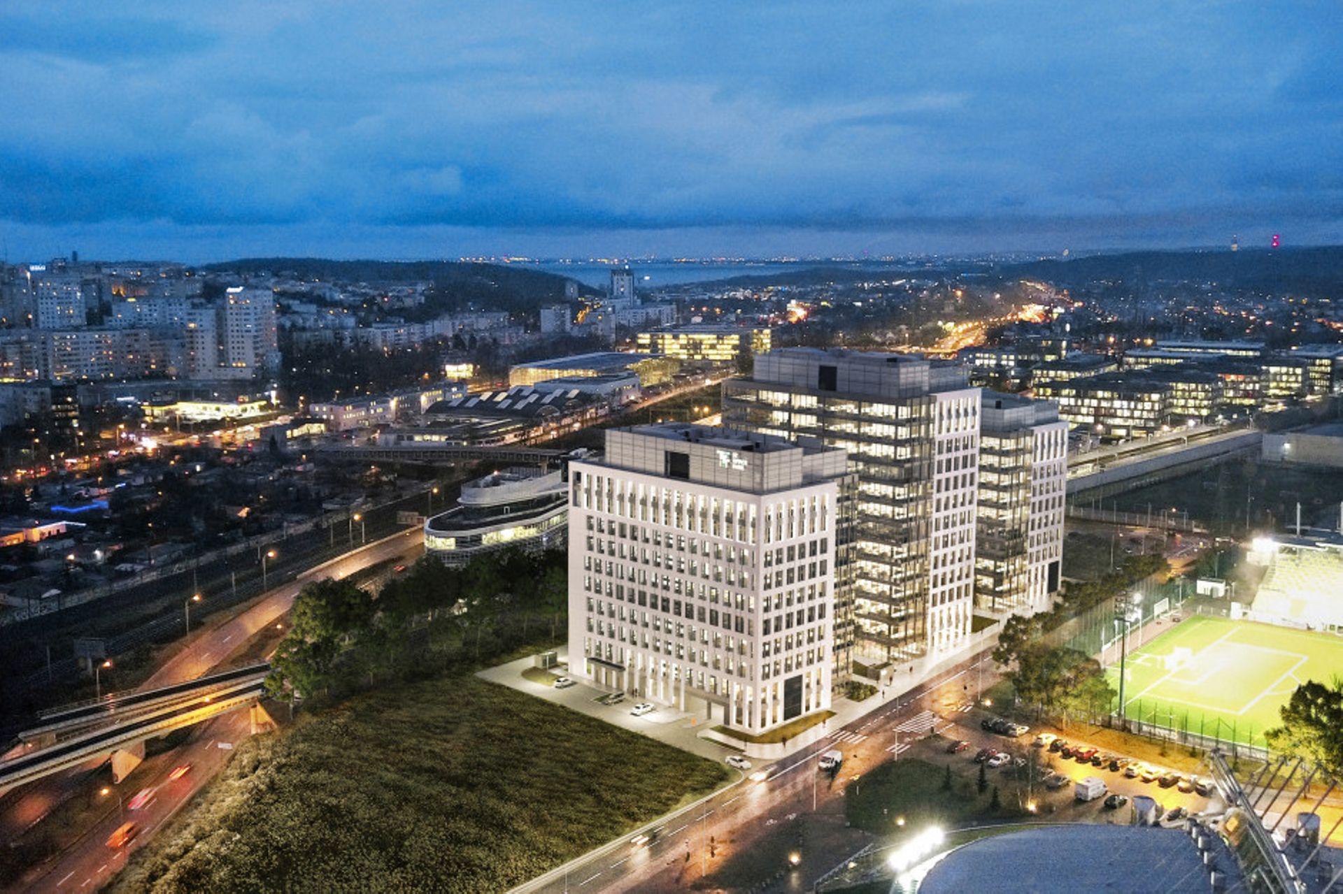 Gdynia: Asseco Poland wynajmuje trzy piętra w jednej z wież kompleksu biurowego 3T Office Park