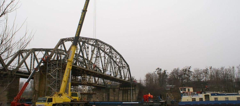 Modernizacja mostu kolejowego na