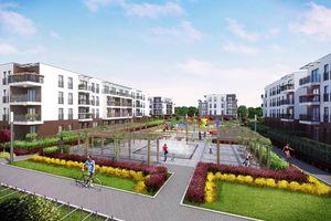 Warszawa: Wawer Love – Green House Development zbuduje w Falenicy osiedle z przedszkolem [WIZUALIZACJE]