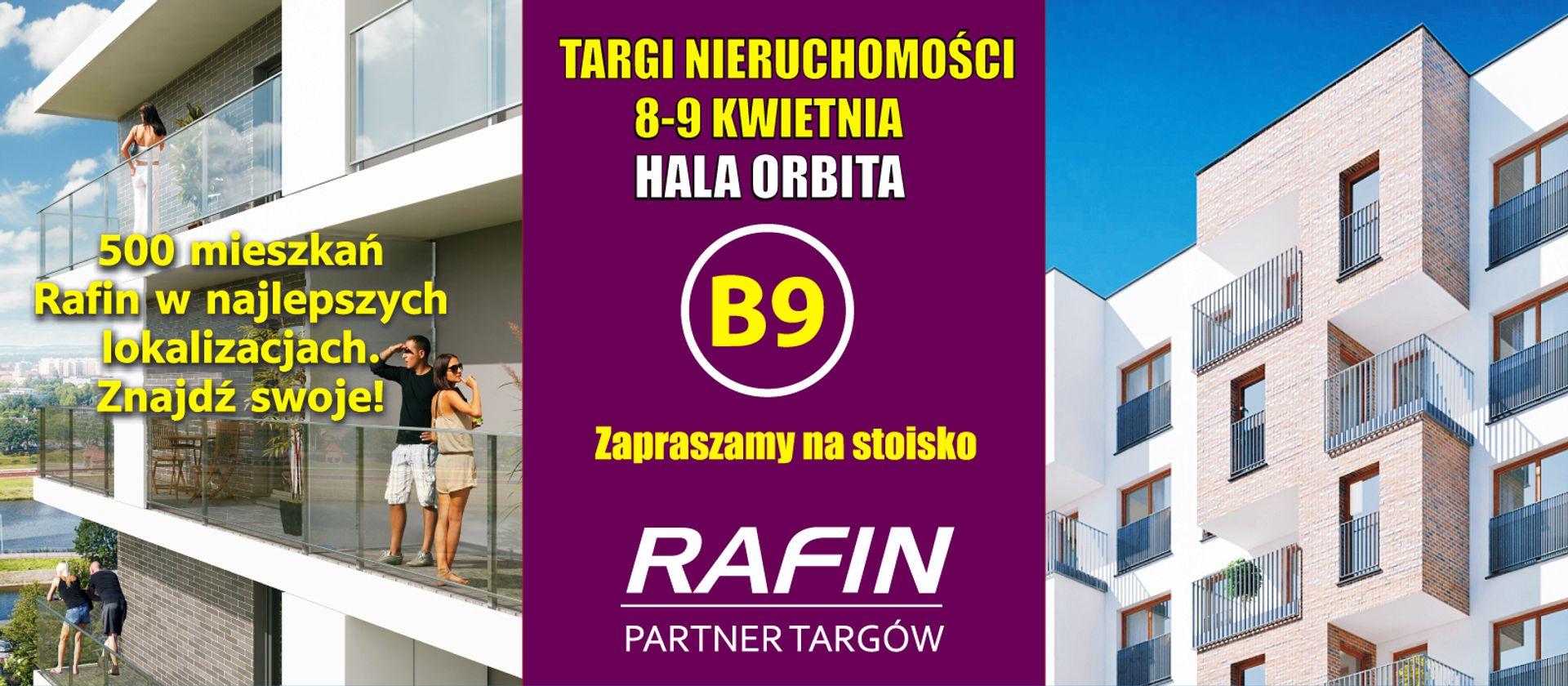 [Wrocław] Rafin zaprasza na targi mieszkaniowe w weekend